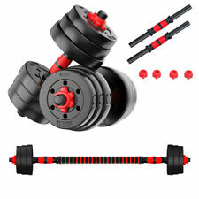 FITNESS WEIGHTS DUMBBELLS BARBELL DUMBBELL BODY BUILDING WEIGHT LIFTING SET 20KG