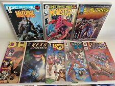 Lot of 32 Comic Books, Vintage, #1's, mostly independent, Nexus, Shadow Man, Etc