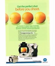 2002 MINOLTA Dimage 7i Camera Digital Point and Shoot Vintage Print Ad