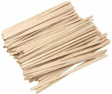 More details for 140mm 5.5'' eco friendly wooden stirrers for tea/coffee paper cups