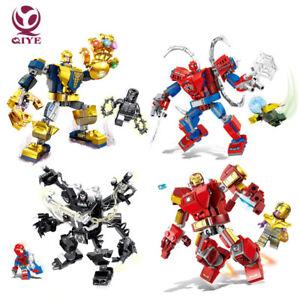 Avengers Ironman Hulk Black Panther Thanos Venom Toy Building blocks