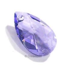 Teardrop Swarovski Crystal 6106 Pendant Tanzanite 16mm