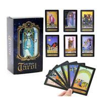 78pcs Waite Rider Oracle de tarot Cartes jeu Divinatoire Avenir+Nappe Tarot Kit