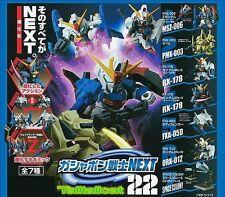 Bandai SD Gundam Next 22 Gashapon (Set of 7) Z The-O MK-II G-Defenser ORX-012