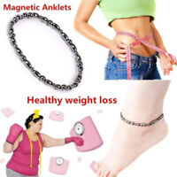 Magnetic Black Therapy Anklet Foot Chain Healthy Weight Loss Ankle Bracelet Gift