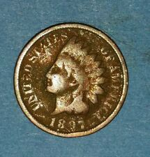 1897 Indian Head Cent   ID #52-87