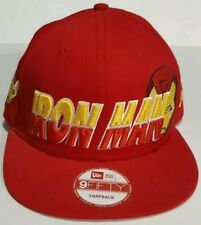 Marvel Iron Man New Era 9Fifty Snapback Red Adjustable Baseball Cap