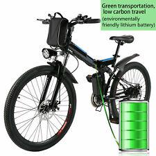 "26 ""Bicicletta elettrica 250W E-Bike pieghevole a 21 velocità BICI-BICICLETTA IT"
