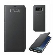 ORIGINALE Samsung Galaxy s8 LED VIEW FLIP COVER CASE ef-ng950 Guscio Borsa
