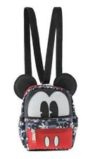 "Leather Mickey Mouse 6"" Style Small 2-in-1 Cross-body bag/ Mini Backpack"