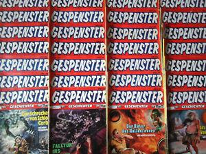 Gespenster Geschichten - Konvolut 28 Comichefte ORIGINAL ERSTAUSGABEN BASTEI