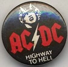 AC/DC 'Highway To Hell Badge Button #1ADVEST