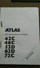 Bedienanleitung Radlader Atlas AR 42C....72C