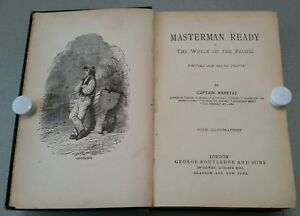 ANTIQUE BOOK.1880-1890.MASTERMAN READY.THE WRECK OF THE PACIFIC.PROP.DISPLAY.