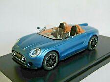 PREMIUM X MINI SUPERLEGGERA VISION CONCEPT METALLIC BLUE 1/43 PRO480 RESIN