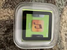 BRAND NEW FACTORY SEALED IPOD 6 NANO 8 GB GREEN MODEL A1366