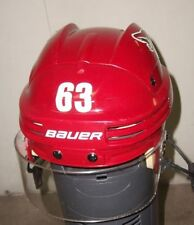 PHOENIX COYOTES Mike Ribeiro game-worn Bauer red home helmet from 2013-14 season
