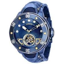 Invicta Men's Quartz Watch Reserve Kraken Open Heart Dial Blue Bracelet 35730