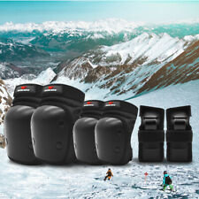Youth Cycling Knee Elbow Pads Wrist Protective Guards Sport Ski Skatboard Gear