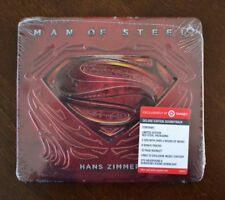 Man of Steel Limited Edition Hans Zimmer (2CD - red steel packaging)  BRAND NEW