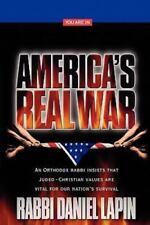 America's Real War by Lapin, Rabbi Daniel, Good Book