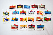 MERTSAN KONVOY COLLECTION OF 21 PIECES GUM WRAPPERS NOT TURBO
