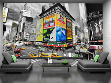 Photo Wallpaper Times Square New York GIANT WALL DECOR PAPER POSTER FOR BEDROOM