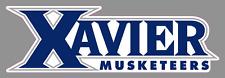 "Xavier University Musketeers 9"" Wordmark Logo Vinyl Decal Sticker - NCAA"