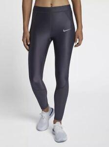 Women's Nike Power Speed Cool Leggings Running Training Gym Extra Small XS Blue