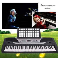 61-Key Digital Electric Piano Keyboard & Sheet Music Stand Portable Kids' Gifts