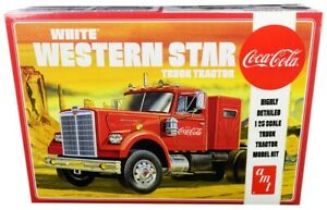AMT COCO-COLA WHITE WESTERN STAR TRUCK, 1:25, LEVEL 3, AMT1160, HC_OZ