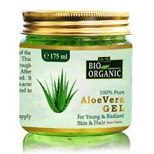 Bio Organic Non-Toxic Aloe Vera Gel for Acne, Scars,Glowing & Radiant Skin 175ML