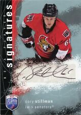 07-08 BE A PLAYER BAP SIGNATURE AUTOGRAPH AUTO CORY STILLMAN SENATORS *33831