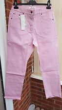 Super Pink Casual Trousers, Jean Style, Sequin Feature to Back Pockets, Size 12
