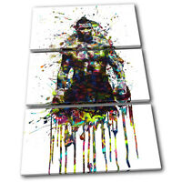 MIKE TYSON Quote 'Everyone Has a Plan…/' Berbick Canvas Print Wall Art ~ 5 Sizes