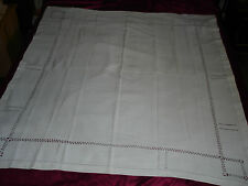 #168 Beautiful Vintage Handmade Tablecloth