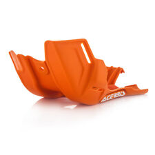 Acerbis MX Skid Placa-KTM SX85 14-17 HUSQVARNA TC85 14-17 - Naranja/Blanco
