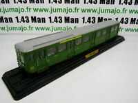 AM15F Automotrices train SNCF 1/87 HO : remorque Type ZR 13600 1938 13601