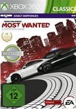 Xbox 360 Need For Speed Most Wanted nueva versión 2012 usado impecable