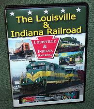 "20297 TRAIN VIDEO DVD ""THE LOUISVILLE & INDIANA RAILROAD"""