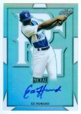 """ED HOWARD """"AUTOGRAPH CARD"""" LEAF METAL PERFECT GAME AAC 2019"""