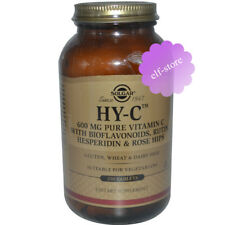 Solgar, HY-C, 250 Tablets Pure Vitamin C with Bioflavonoids, Rutin, Hesperidin