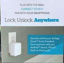 Schlage Sense Wi-fi Adapter Lock Unlock Anywhere NEW SEALED BR400