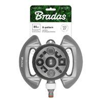 8-Funktionen Rasensprenger Sprinkler Impulsregner Kreisregner Bradas 5510