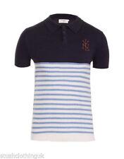Camisas y polos de hombre azul 100% algodón talla M