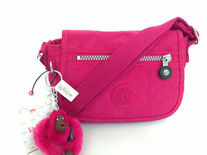 "BNEW Authentic KIPLING Sabian AC7240 Crossbody Sling Bag Blooming Rose ""Rachel"""