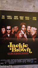 blaxploitation  JACKIE BROWN ! pam grier quentin tarantino affiche cinema
