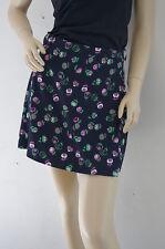 TOPSHOP Navy Tulip Mini Skirt Size 8 NEW £36 AP9