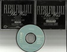 FLESH FOR LULU She was From NINTENDO White Knuckle Scorin PROMO USA DJ CD single