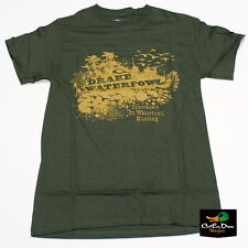DRAKE WATERFOWL HONEY HOLE LOGO TEE T-SHIRT SHORT SLEEVE SS OLIVE GREEN SMALL